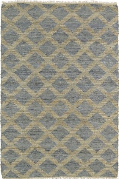 Slate, Natural Fiber (103) Contemporary / Modern Area Rug