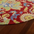 Product Image of Red, Gold, Avocado (25) Traditional / Oriental Area Rug