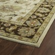 Product Image of Beige, Sage Green, Brown (03) Traditional / Oriental Area Rug