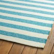 Product Image of Blue, Ivory (17) Outdoor / Indoor Area Rug