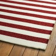 Product Image of Red, Ivory (25) Outdoor / Indoor Area Rug
