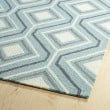 Product Image of Blue, Grey, Ivory (17) Moroccan Area Rug