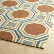 Product Image of Pumpkin, Grey, Gold (31) Contemporary / Modern Area Rug