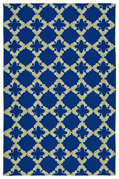 Navy, Ivory (22) Moroccan Area Rug
