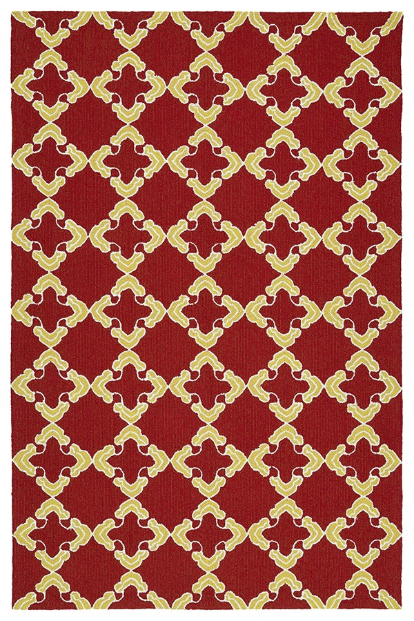 Red, Ivory (25) Moroccan Area Rug