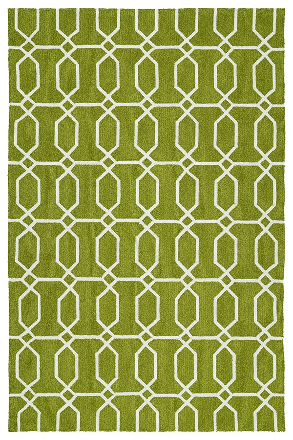 Green, Ivory (50) Moroccan Area Rug