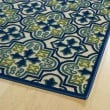 Product Image of Blue, Green, Beige (17) Moroccan Area Rug