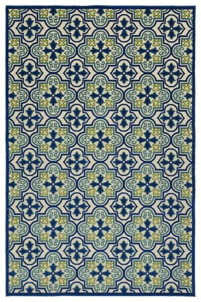 Blue, Green, Beige (17) Contemporary / Modern Area Rug