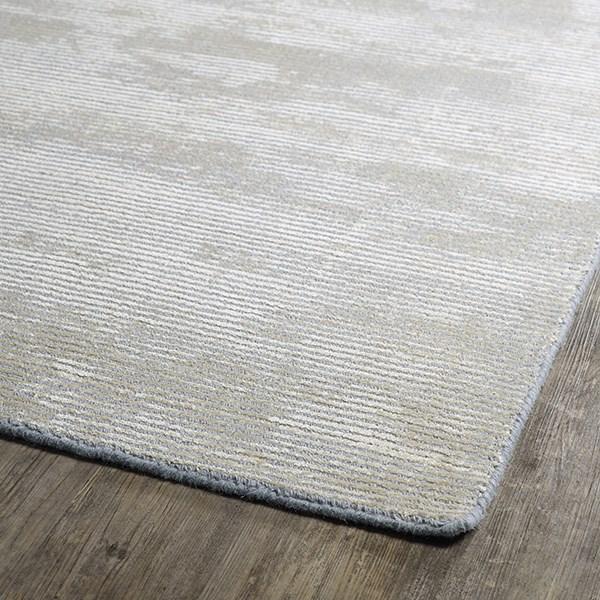 Grey, Beige (75) Casual Area Rug