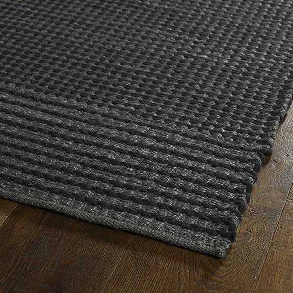 Slate, Charcoal (38) Casual Area Rug