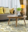 Product Image of Ivory, Grey, Gold (01) Transitional Area Rug