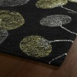 Product Image of Black, Grey, Avocado (02) Floral / Botanical Area Rug