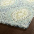 Product Image of Denim, Turquoise, Ivory (17) Transitional Area Rug
