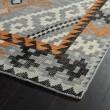 Product Image of Grey, Black, Paprika (75) Southwestern / Lodge Area Rug