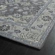 Product Image of Grey, Silver, Steel (75) Traditional / Oriental Area Rug