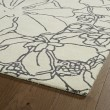 Product Image of Ivory, Grey (01) Floral / Botanical Area Rug