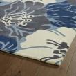 Product Image of Navy, Light Blue, Ivory, (17) Floral / Botanical Area Rug