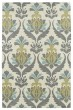 Product Image of Traditional / Oriental Ivory, Grey, Turquoise, Gold (01) Area Rug