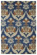 Product Image of Traditional / Oriental Blue, Paprika, Camel, Brown (17) Area Rug