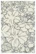 Product Image of Floral / Botanical Ivory, Grey (01) Area Rug