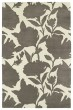 Product Image of Floral / Botanical Grey, Ivory (75) Area Rug