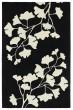 Product Image of Black, Ivory (02) Floral / Botanical Area Rug