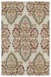Product Image of Contemporary / Modern Mushroom, Brick, Paprika, Gold(107) Area Rug
