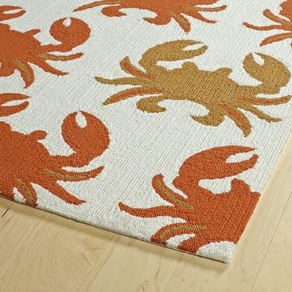 Ivory (01) Outdoor / Indoor Area Rug