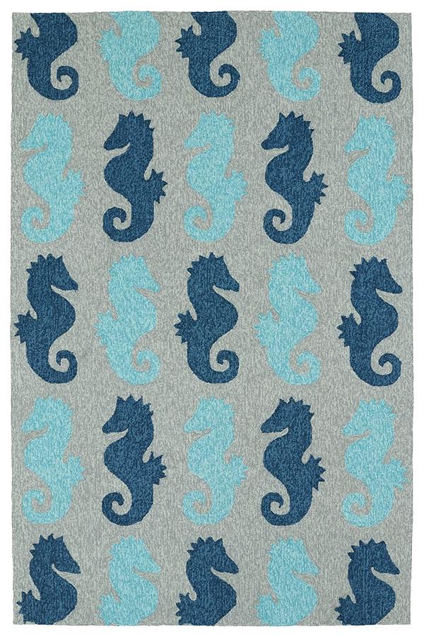 Blue (17) Outdoor / Indoor Area Rug