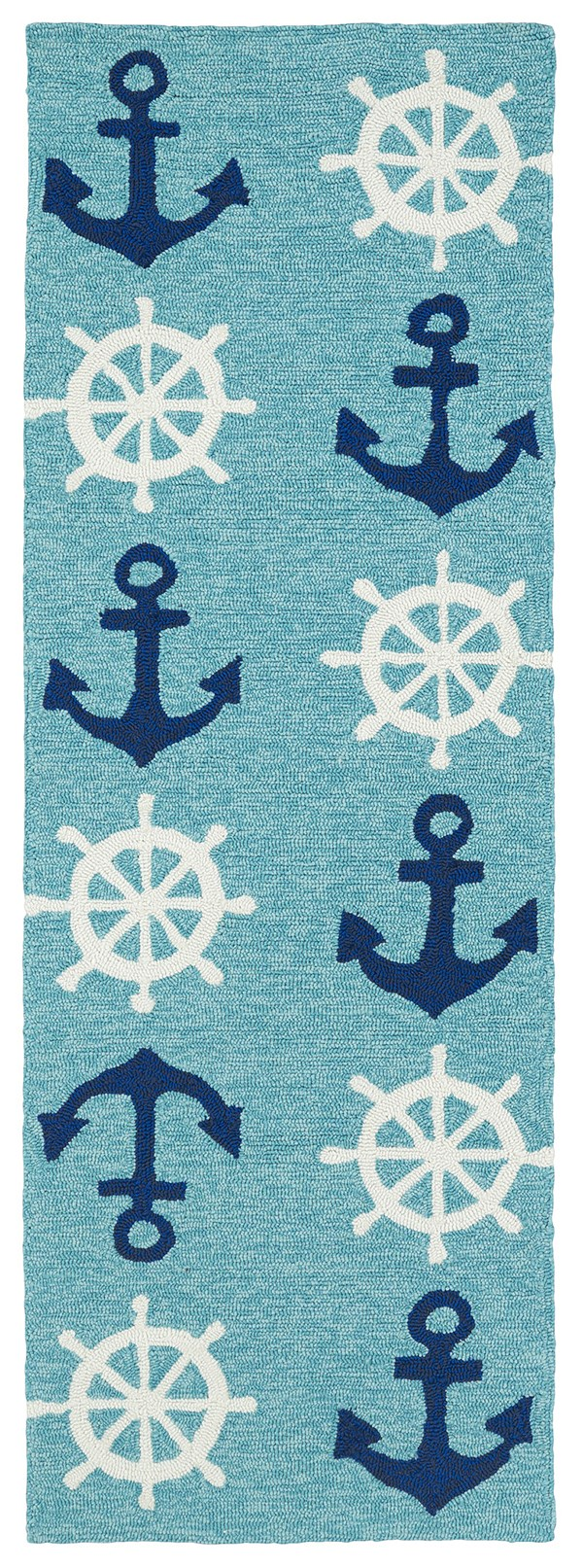 Blue (17) Outdoor / Indoor Area Rug