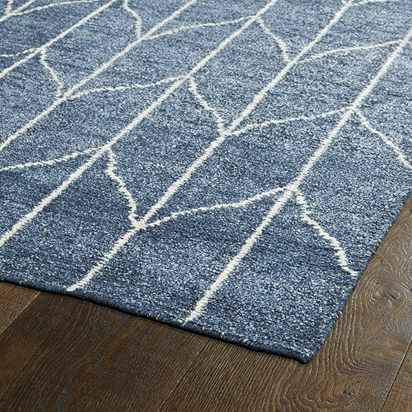 Denim (10) Transitional Area Rug