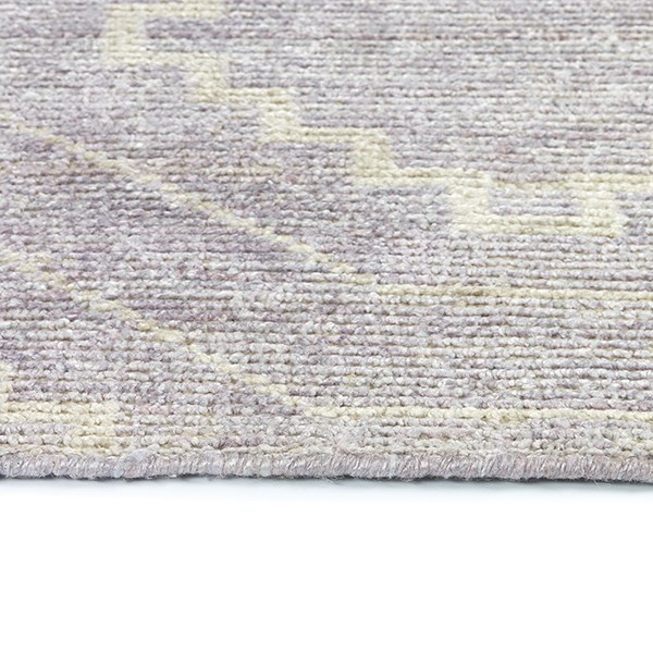 Lavender, Cream (20) Rustic / Farmhouse Area Rug