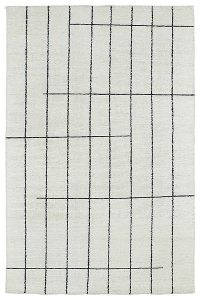 Ivory (01) Contemporary / Modern Area Rug