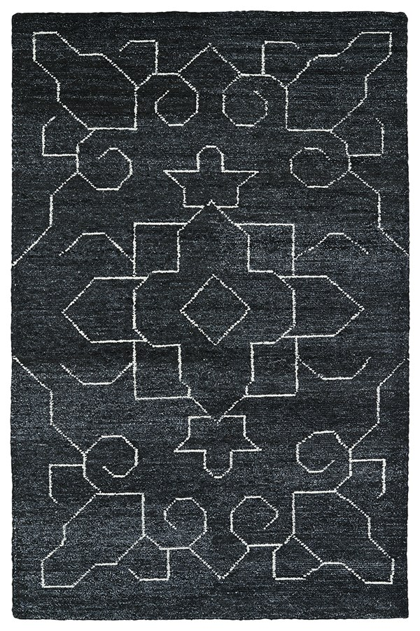 Charcoal (38) Transitional Area Rug