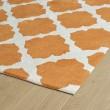 Product Image of Orange, Ivory (89) Moroccan Area Rug