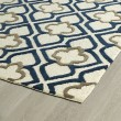 Product Image of Navy (22) Moroccan Area Rug