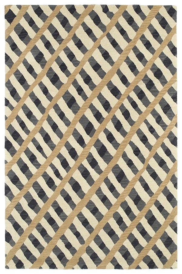 Grey (75) Transitional Area Rug