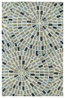 Product Image of Contemporary / Modern Blue (17) Area Rug