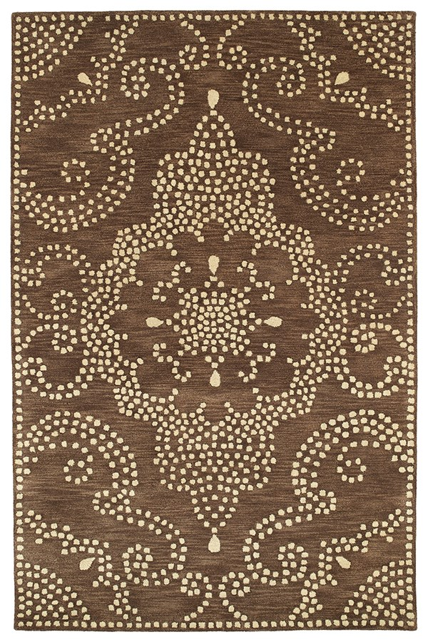 Brown (49) Transitional Area Rug