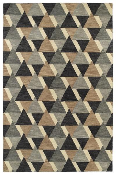 Charcoal (38) Geometric Area Rug