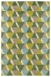 Product Image of Geometric Lime Green (96) Area Rug