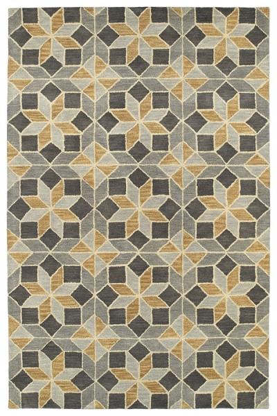 Grey (75) Contemporary / Modern Area Rug