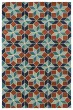 Product Image of Contemporary / Modern Turquoise (78) Area Rug