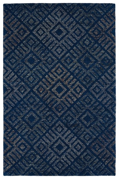Blue, Navy, Lime Green, Rust (17) Geometric Area Rug