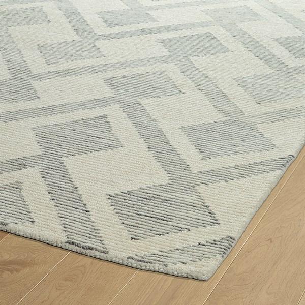 Ivory, Linen, Silver, Medium Grey (01) Transitional Area Rug