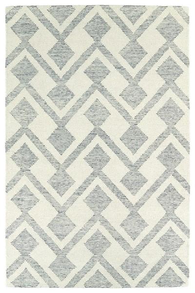 Ivory, Linen, Silver, Medium Grey (01) Geometric Area Rug