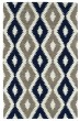 Product Image of Moroccan Navy, Ivory, Dark Taupe (22) Area Rug