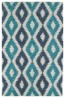Product Image of Moroccan Turquoise, Linen, Peacock, Denim (78) Area Rug