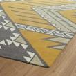 Product Image of Butterscotch, Steel Grey, Khaki (07) Southwestern / Lodge Area Rug