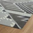 Product Image of Grey, Ivory, Dark Grey, Shale Grey (75) Southwestern / Lodge Area Rug